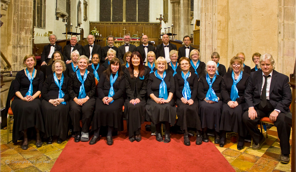 The Clarkson Singers in Leverington Church: September 2015